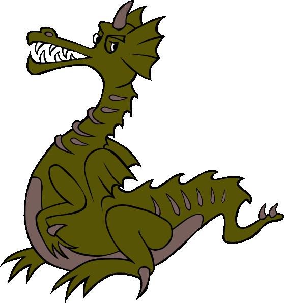 558x596 Green Dragon Clip Art Is Free Clipart Panda