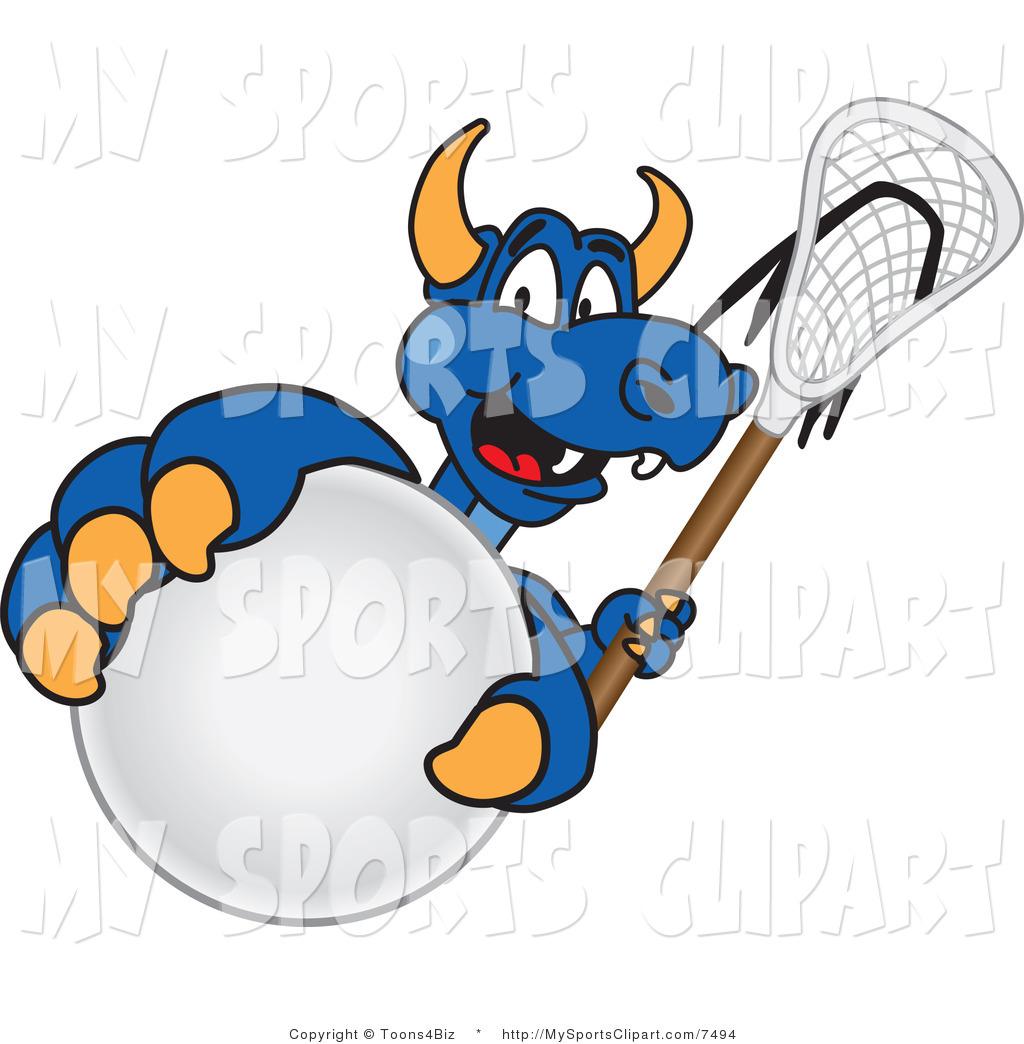 1024x1044 Sports Clip Art Of A Dragon Mascot Grabbing A Lacrosse Ball By