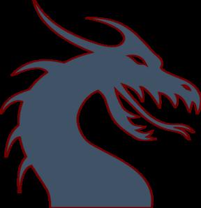 288x298 Blue Dragon Clipart Dragon Head