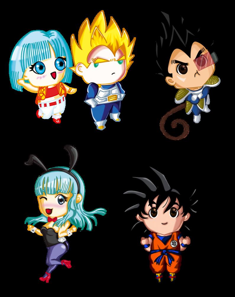 795x1005 Dragon Ball Z Characters Free Png By Jimereynosop