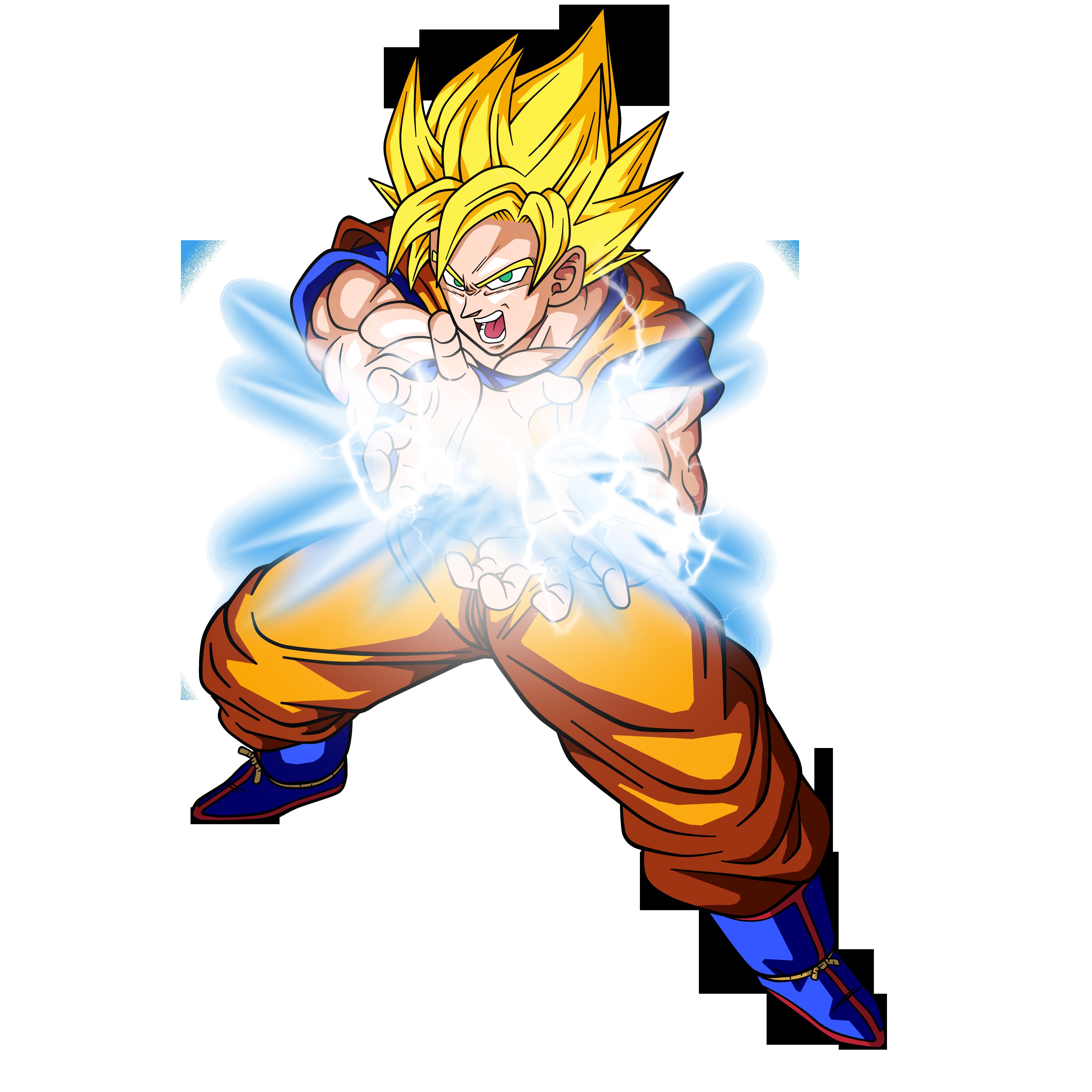 4000x4000 Goku Super Guerreroda Vital By Bardocksonic