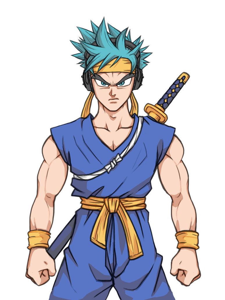 774x1032 Ninja Dragon Ball Z By Kenji893