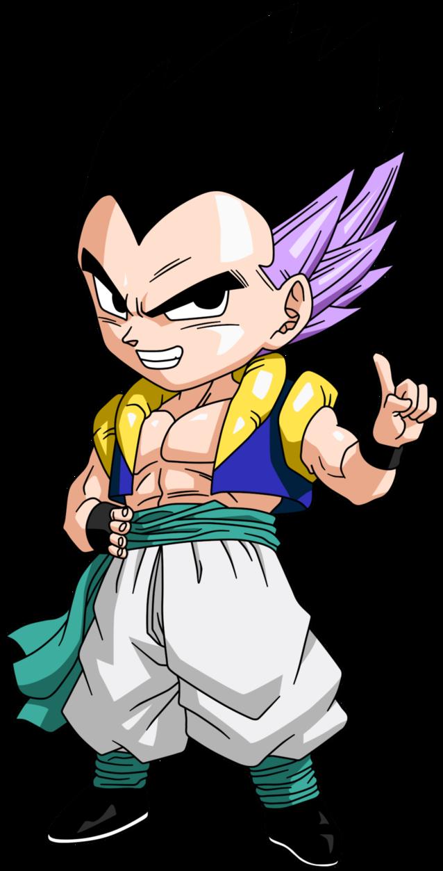 638x1253 Personajes Chibi De Dragon Ball Gotenks V Dragon