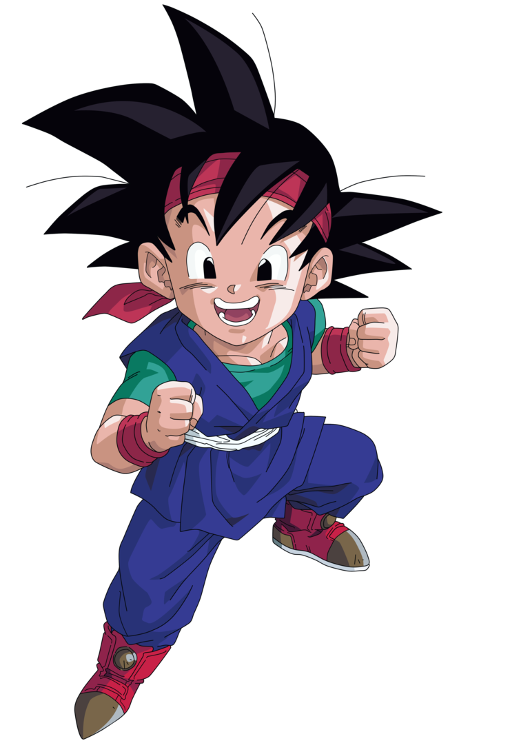 740x1078 Sweet Goku Jr. Dragon Ball Z Goku, Dragon Ball And Dbz