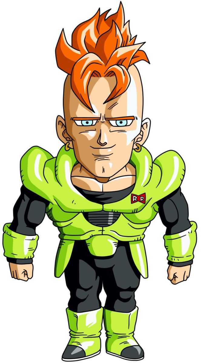 664x1204 Chibi Android 16 By Maffo1989