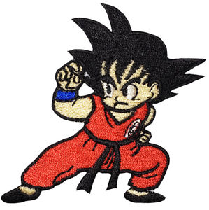 299x300 Dragon Ball Z Young Son Goku Cartoon Manga Anime Fighting Dbz Sew