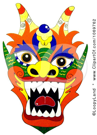 322x450 Chinese Dragon Clipart Dragon Face