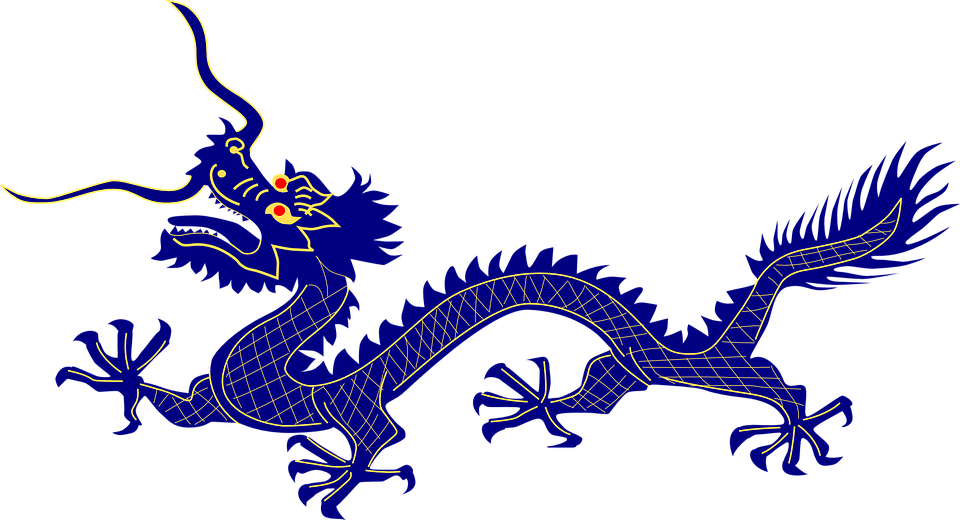 960x520 Chinese Dragon Clipart Free