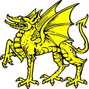 300x300 Dragon Clip Art