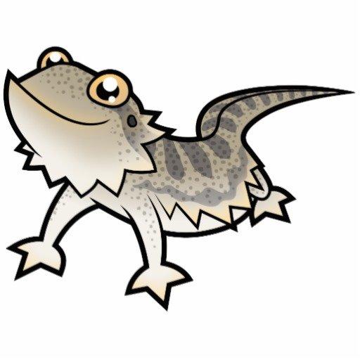 512x512 Bearded Dragon Clipart Cartoon