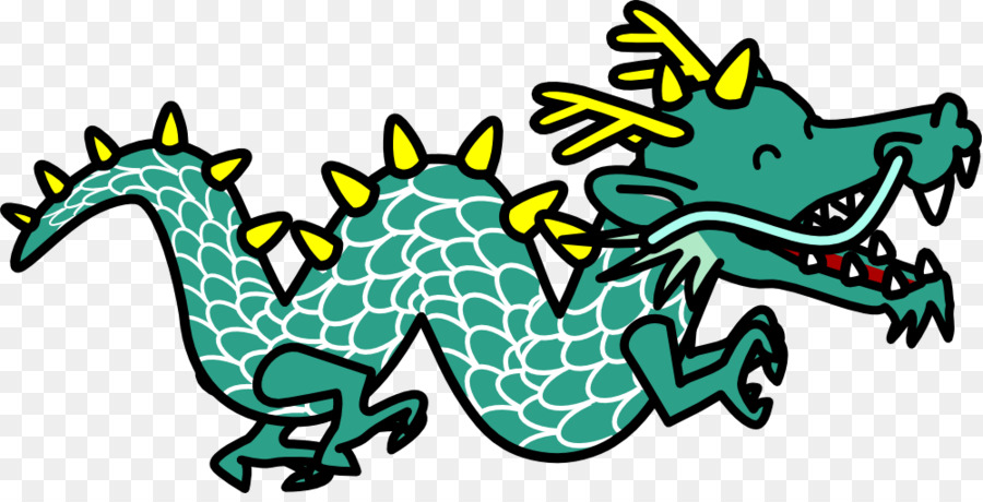 900x460 Dragon Clipart Chinese