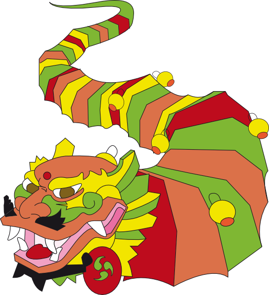 546x599 Chinese Dragon Clipart Chinese Dragon Clipart Backgrounds