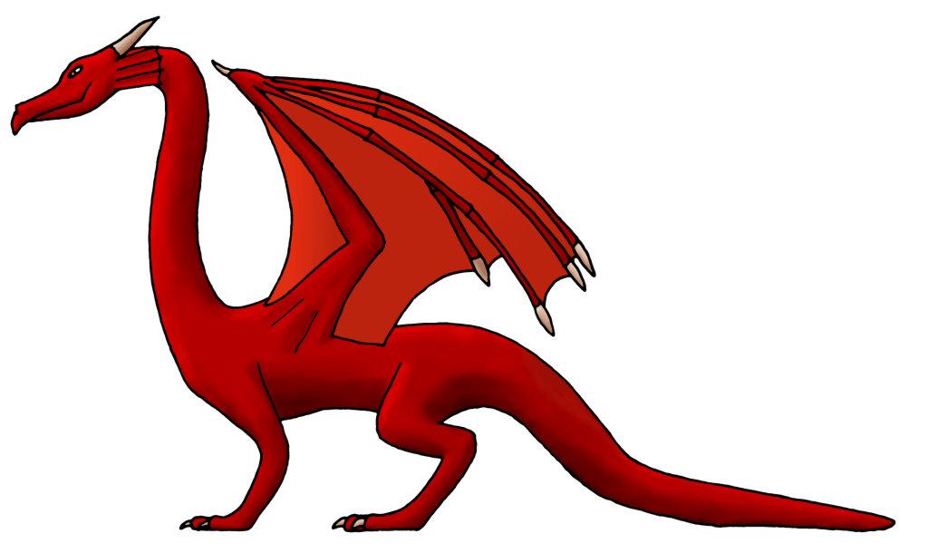 1024x610 Clip Art Dragon