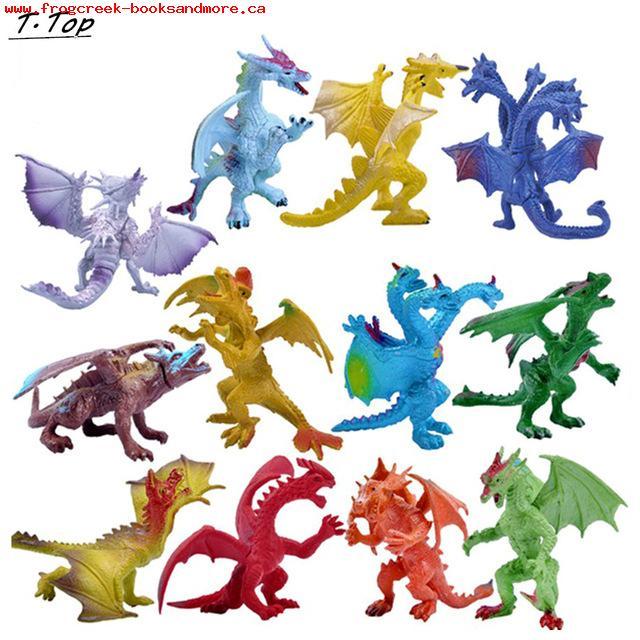 640x640 Kids Toys Dinosaur Hell Dragon Multi Color Diecast Simulation Toy