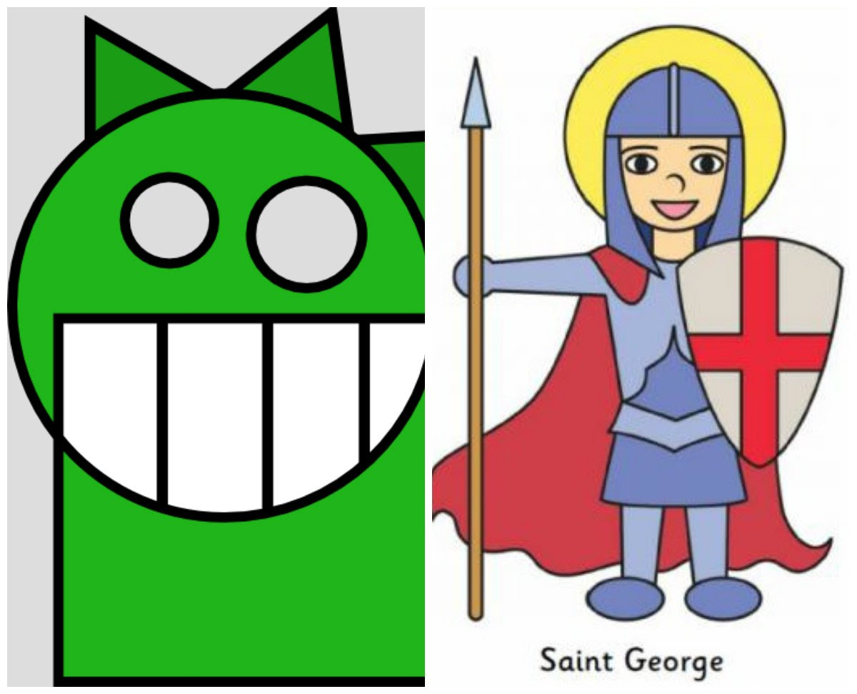 1200x972 Saint George And The Dragon