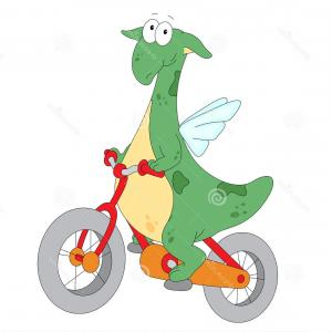300x300 Stock Photo A Vector Illustration Of Happy Kids Riding On A Cute