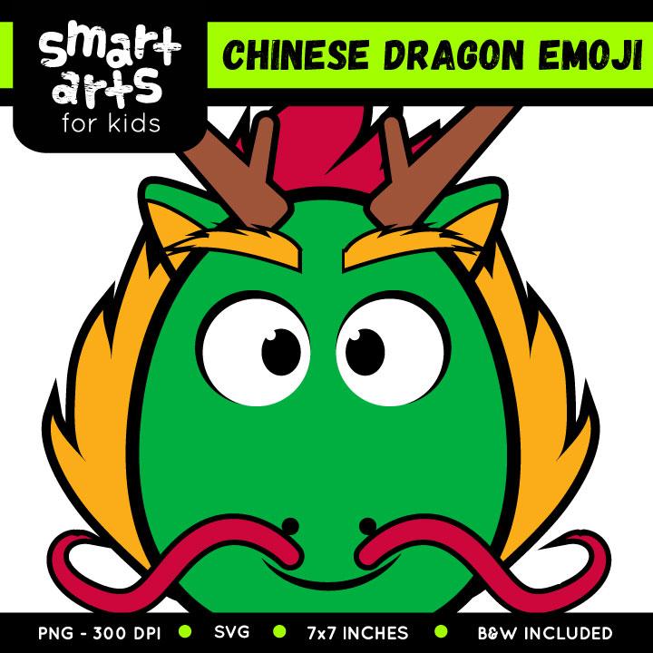 720x720 Chinese Dragon Emoji Clip Art Smart Arts For Kids