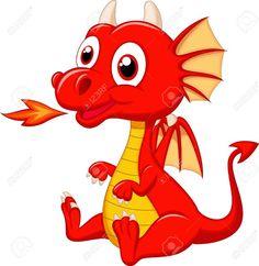 236x242 Cute Dragons Cartoon Clip Art Images.all Dragon Cartoon Picture