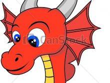 220x165 Dragon Face Clipart