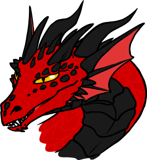 300x328 Dragon Face By Resizer