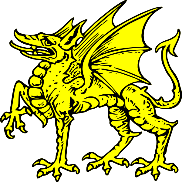 600x600 Collection Of Dragon Symbol Clipart High Quality, Free