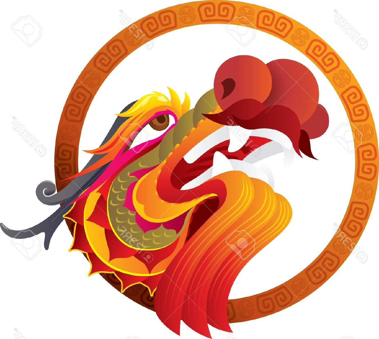 1300x1165 Chinese Dragon Clipart Dragon Face 3156460