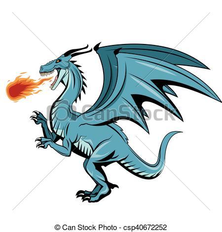 450x470 Dragon Animal Cartoon Design. Dragon Cartoon Icon. Chinese