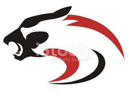 407x299 Panther Dragon Abstract Premium Clipart