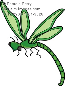 226x300 Cartoon Dragonfly Royalty Free Clip Art Picture