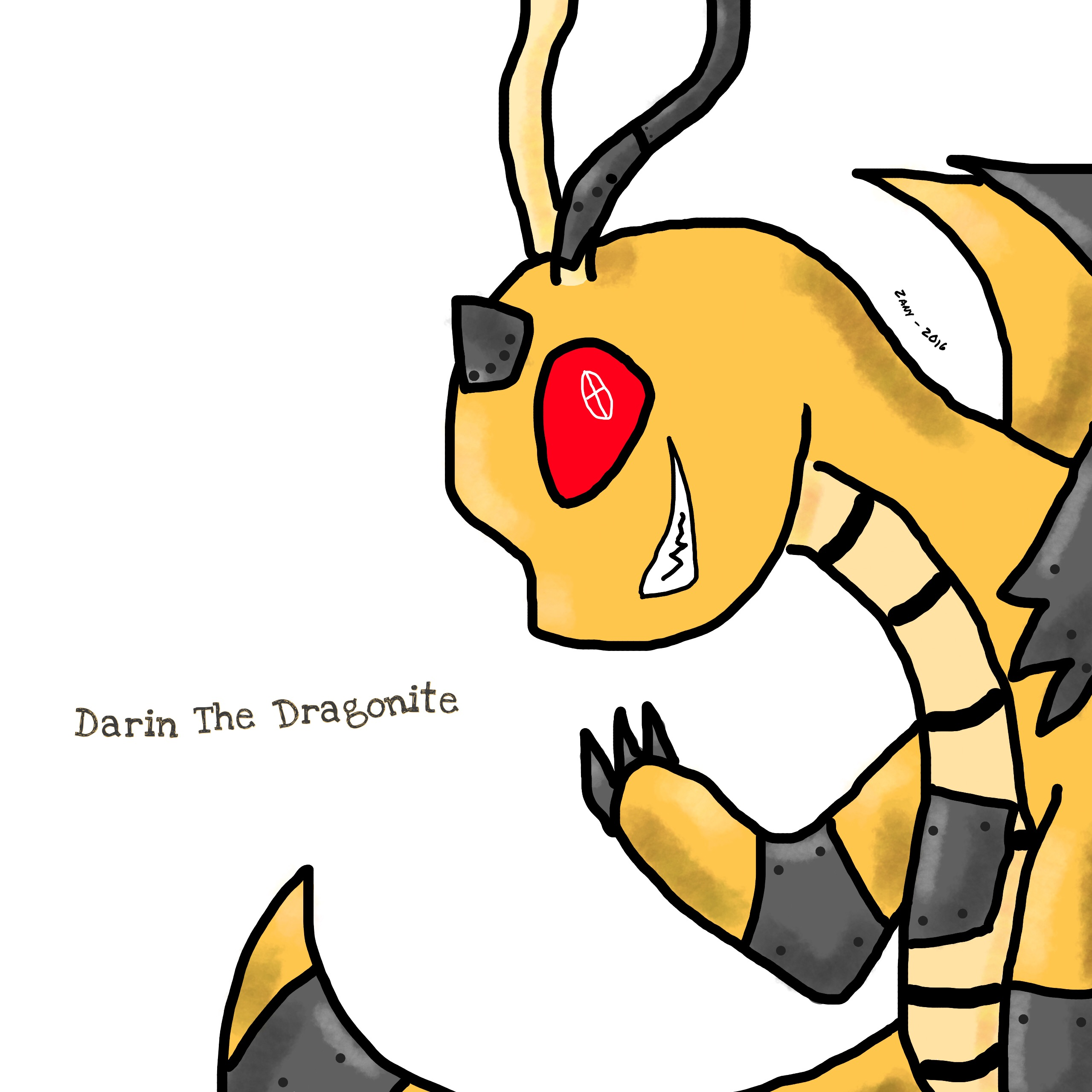 Dragonite Clipart