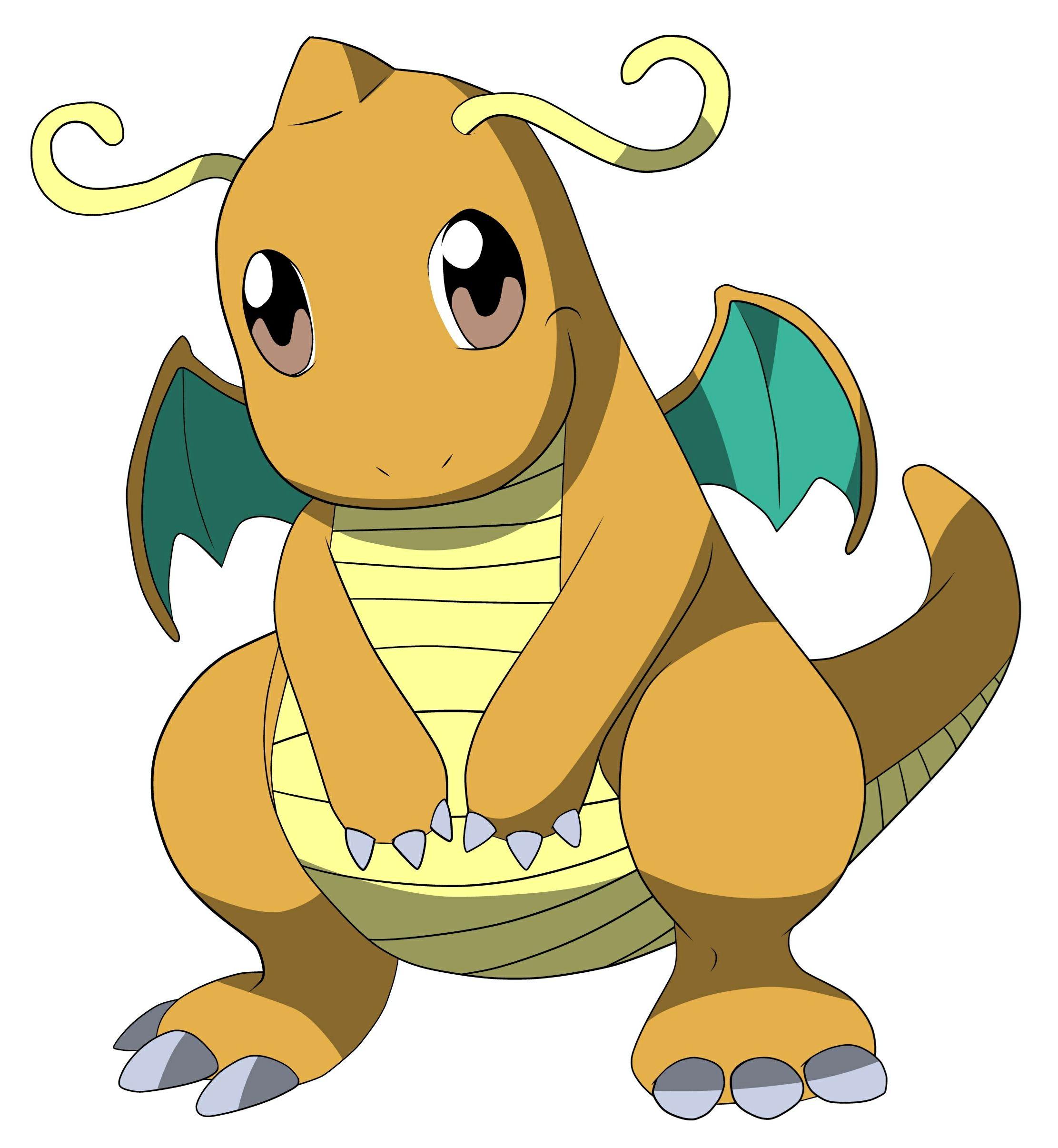 2223x2411 Dragonite Pokemon Manga And Anime