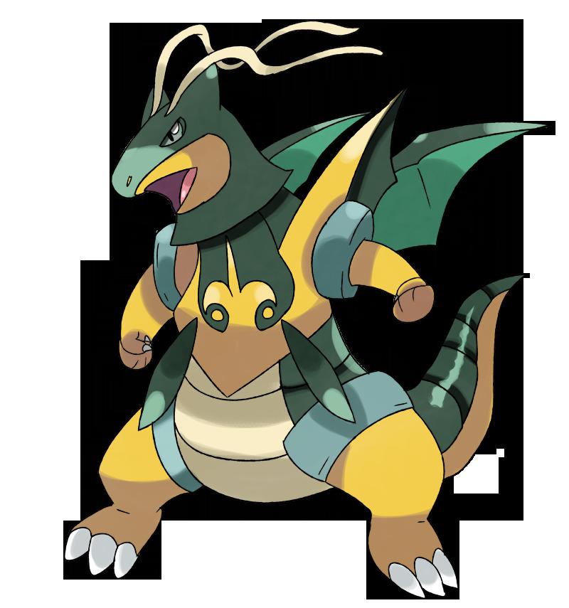 800x855 Mega Dragonite Y By Phatmon