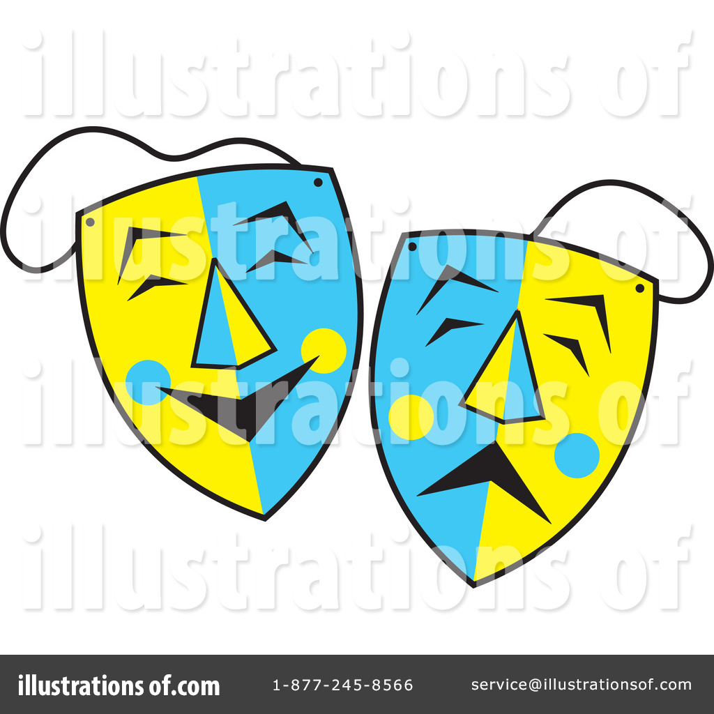 1024x1024 Theater Mask Clipart