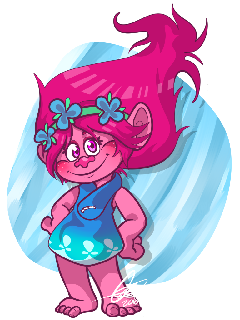 768x1024 Trolls Poppy~ By Embercl