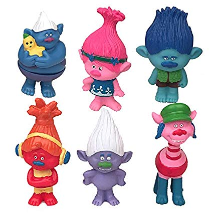 425x425 Uranus Cute! Dreamworks Trolls Poppy Doll Mini Figures
