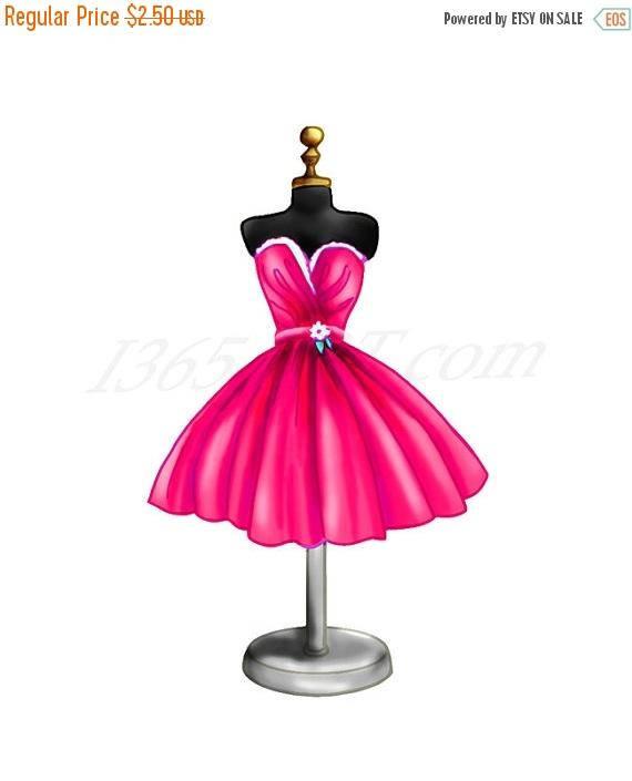 570x705 50% Off Magenta Dress Clipart, Magenta Dress Clip Art, Dress Form
