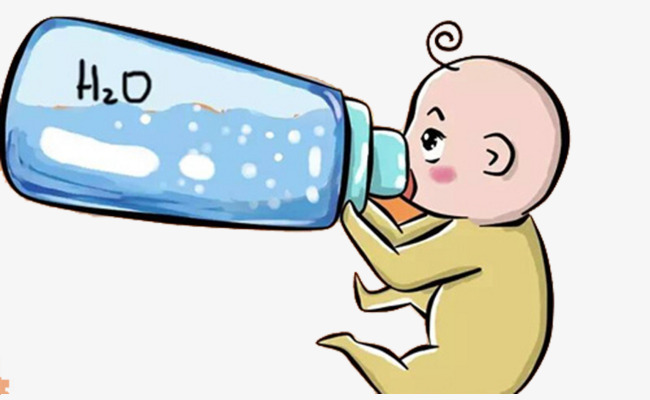 650x400 Drink The Baby, Cute Baby, Drink Water, Big Bottle Png Image
