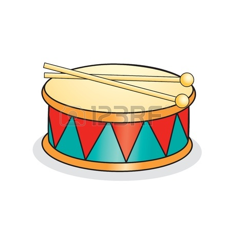 450x450 Marching Drum Clipart