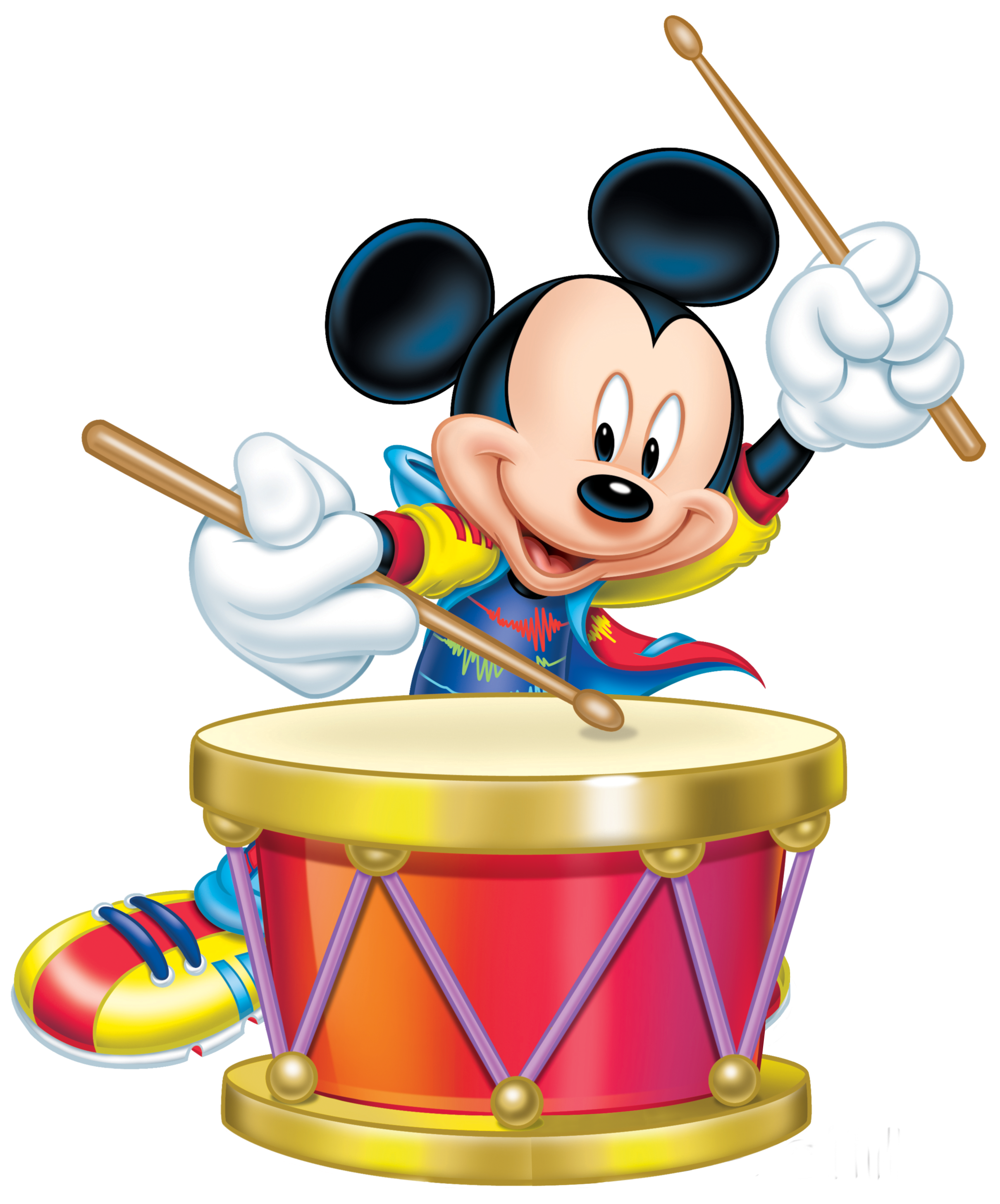 2419x2911 Mickey Mouse With Drum Transparent Png Clip Art Imageu200b Gallery