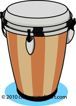 252x350 African Drum Clip Art Image Information Caption Drum Clipart