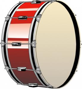 276x300 Bass Drum Clip Art Download