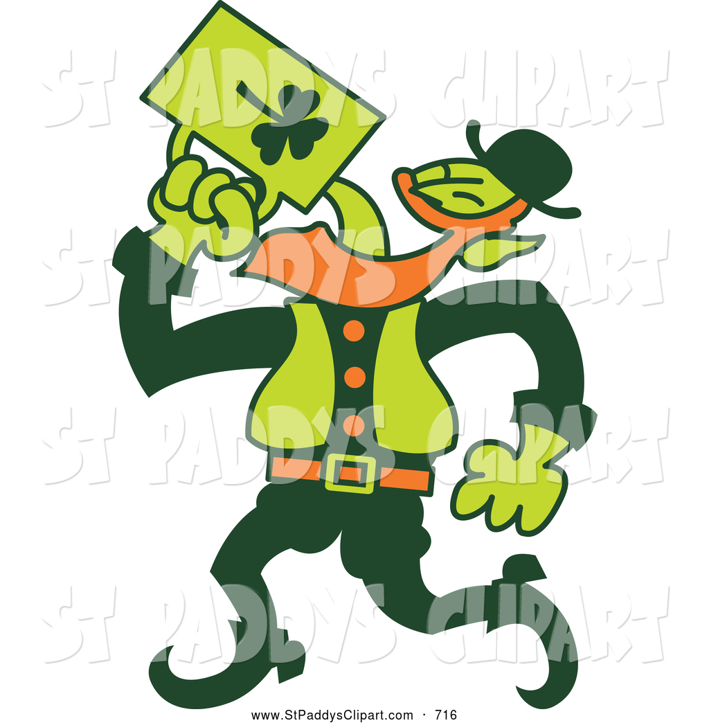 1024x1044 Vector Clip Art Of A Drunk Irish Man Chugging Beer By Zooco