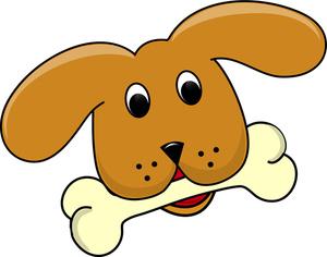 300x236 Dog Bone Clipart Group