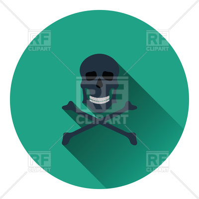 400x400 Icon Of Poison From Skill And Bones Royalty Free Vector Clip Art