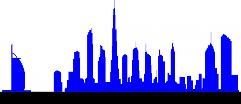 800x348 Dubai Free Vector Download (14 Free Vector) For Commercial Use