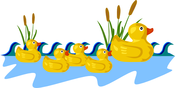 600x302 Collection Of Duck And Duckling Clipart High Quality, Free