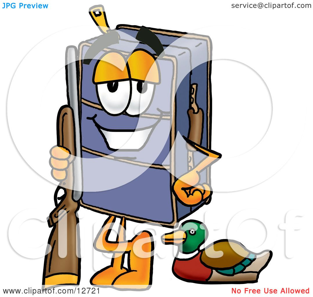1080x1024 Clipart Picture Of A Suitcase Cartoon Character Duck Hunting
