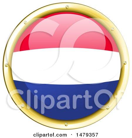 450x470 Clipart Of A Dutch Flag Icon