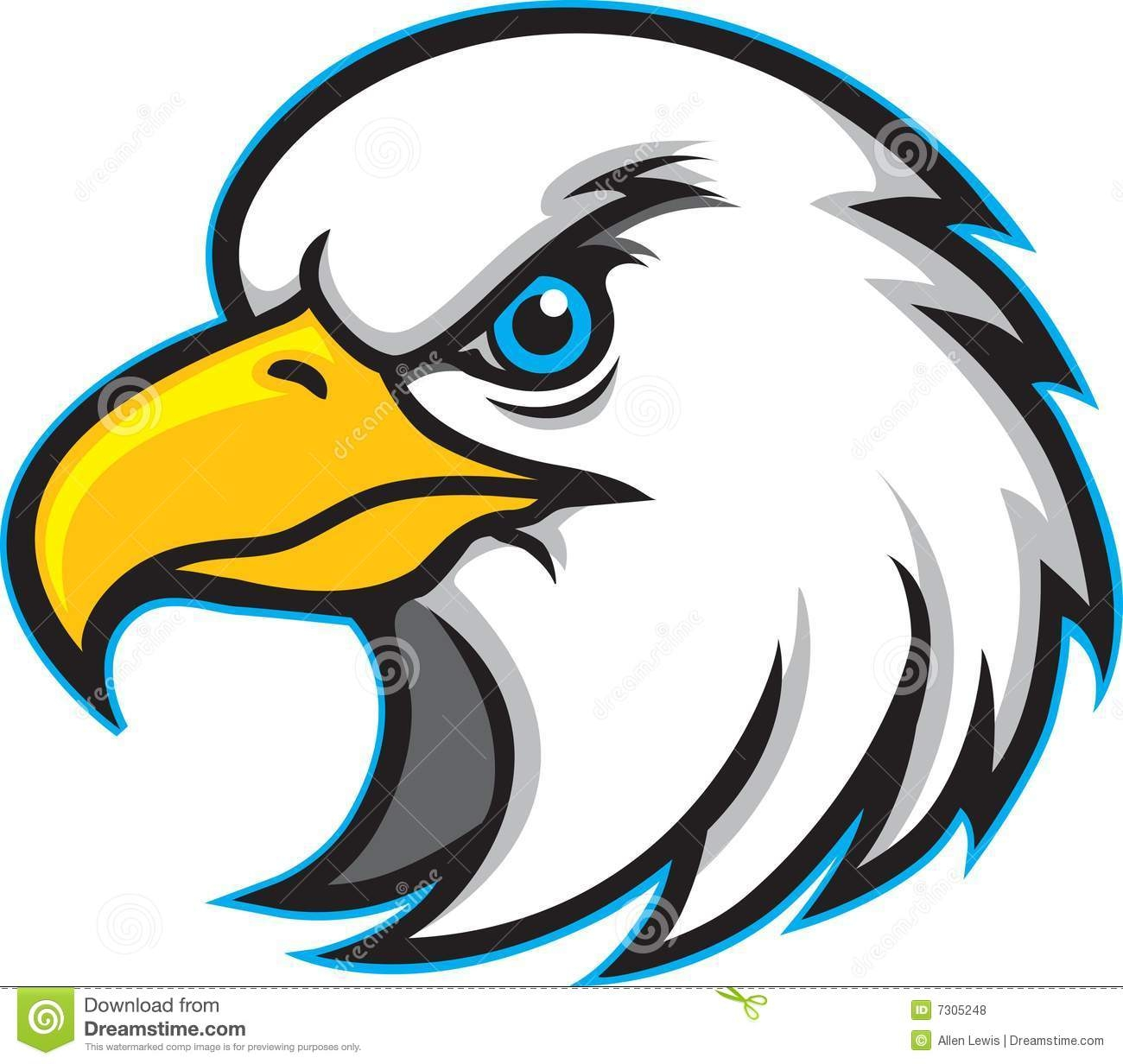1300x1232 Best Of Eagle Head Clipart Design