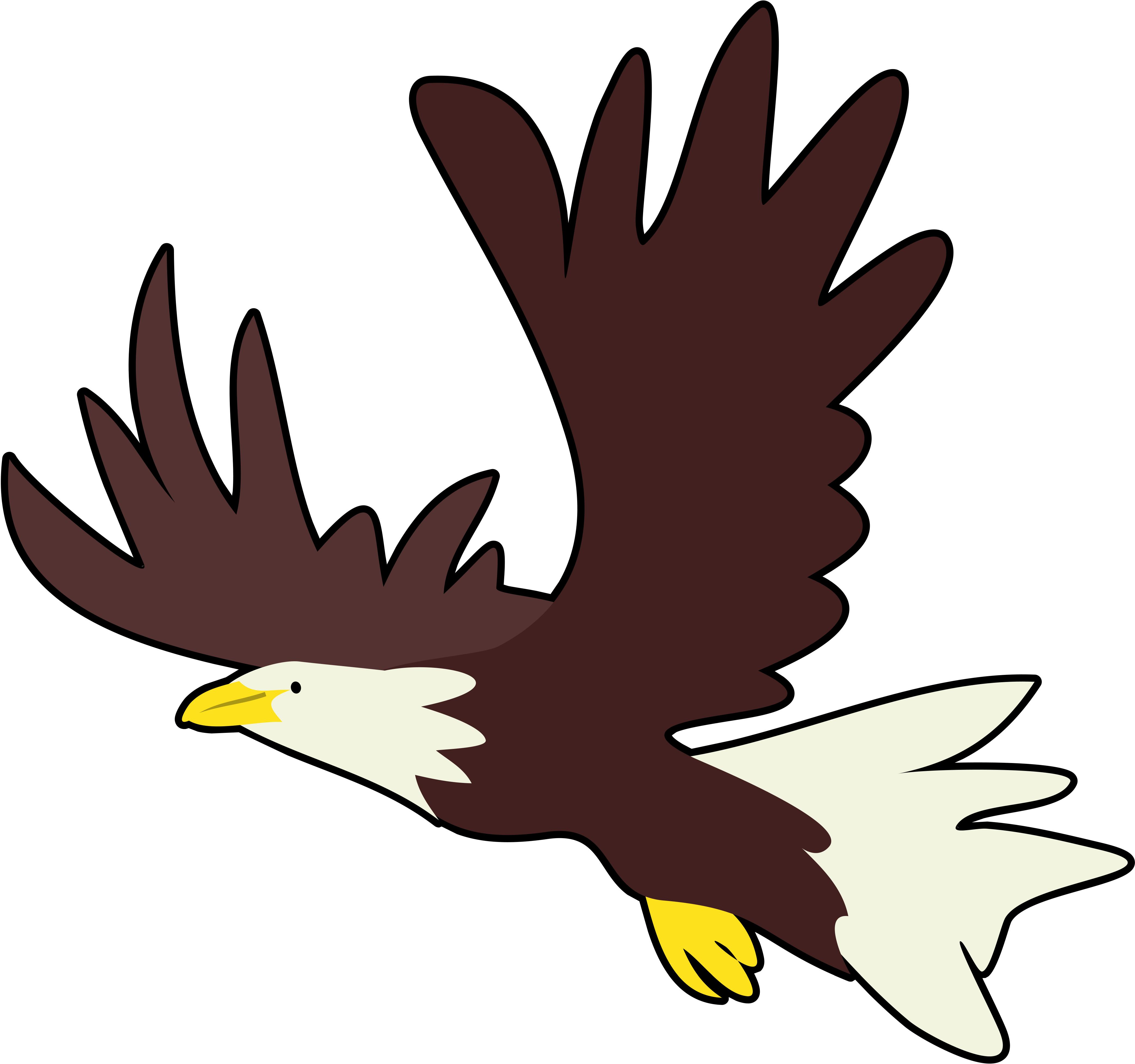 4169x3910 Clip Art Clip Art Of Eagle
